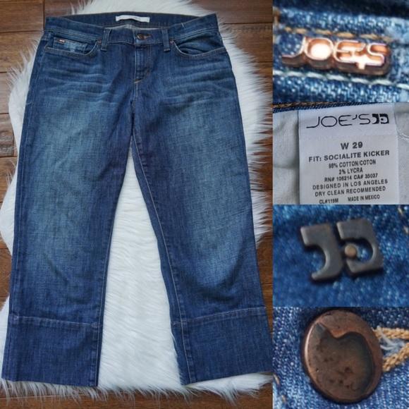 a084fb1049d68 Joe's Jeans Jeans   Joes Socialite Kicker Capri 29w   Poshmark